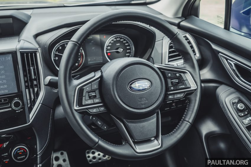 试驾: Subaru Forester 2.0i-S Eyesight , 只是外型欠一点 Image #112035