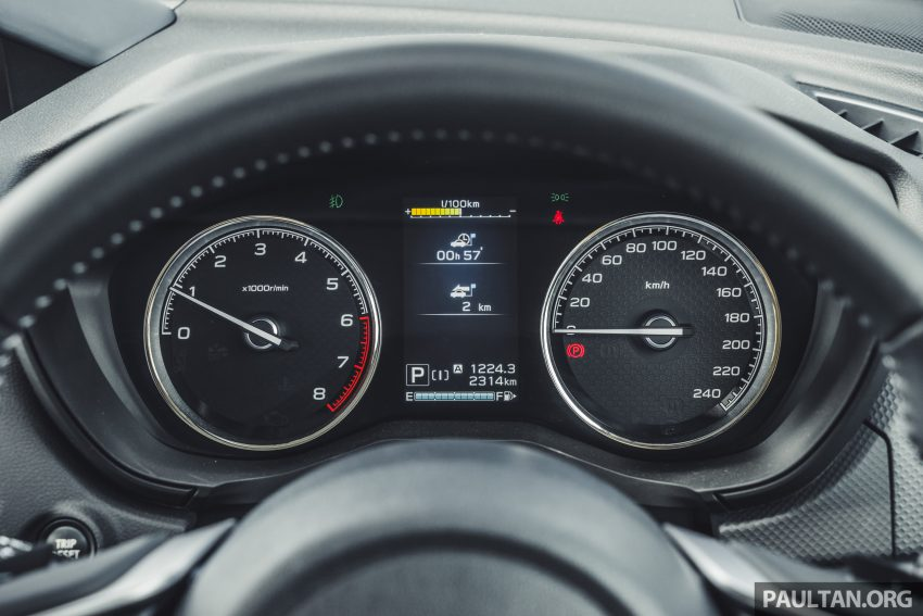 试驾: Subaru Forester 2.0i-S Eyesight , 只是外型欠一点 Image #112038