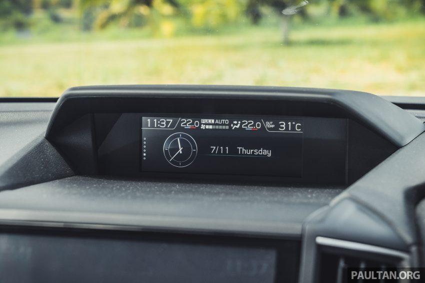 试驾: Subaru Forester 2.0i-S Eyesight , 只是外型欠一点 Image #112039
