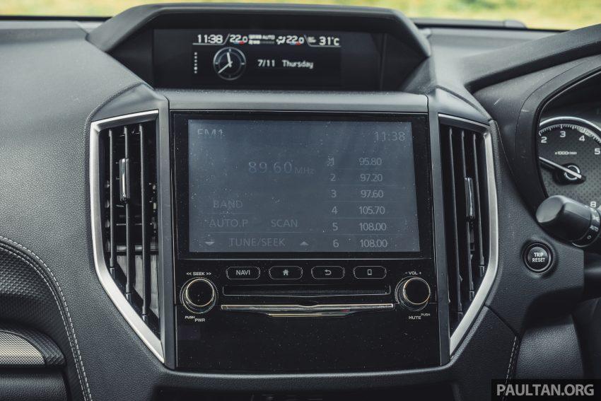 试驾: Subaru Forester 2.0i-S Eyesight , 只是外型欠一点 Image #112042