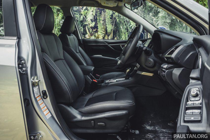 试驾: Subaru Forester 2.0i-S Eyesight , 只是外型欠一点 Image #112058