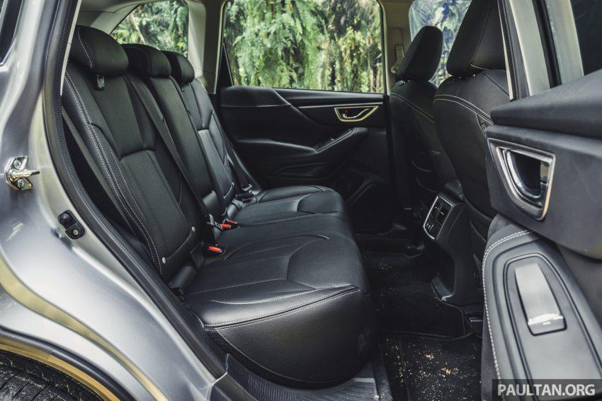 试驾: Subaru Forester 2.0i-S Eyesight , 只是外型欠一点 Image #112060