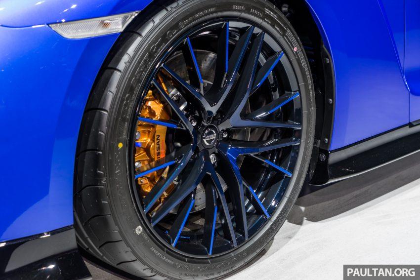 2019泰国车展:跨越半个世纪的战神!Nissan GT-R 50周年纪念版实车亮相,传承 R34 的 Bayside Blue 车身涂装 Image #112210