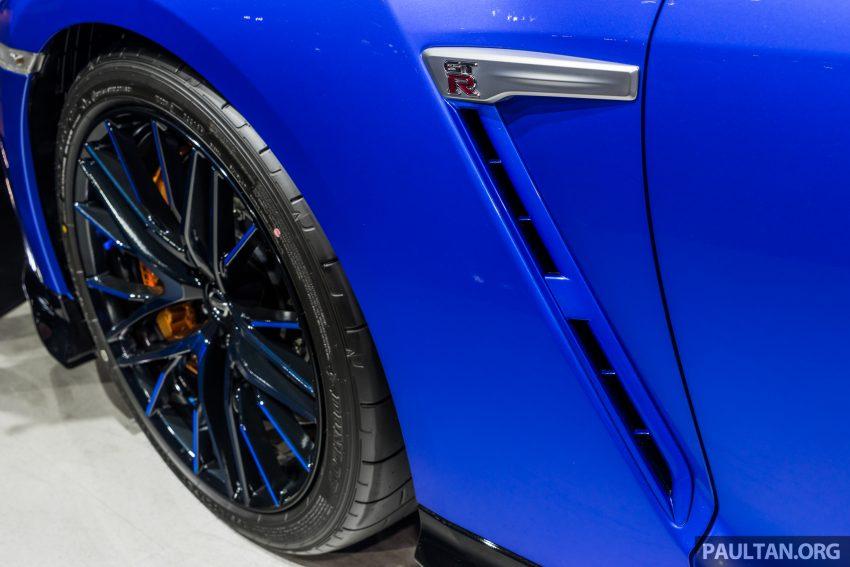 2019泰国车展:跨越半个世纪的战神!Nissan GT-R 50周年纪念版实车亮相,传承 R34 的 Bayside Blue 车身涂装 Image #112211