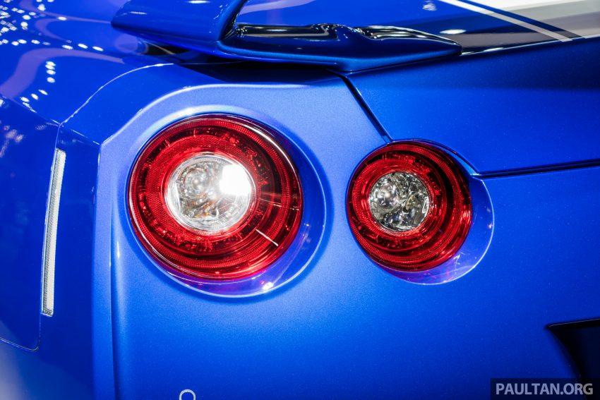 2019泰国车展:跨越半个世纪的战神!Nissan GT-R 50周年纪念版实车亮相,传承 R34 的 Bayside Blue 车身涂装 Image #112214