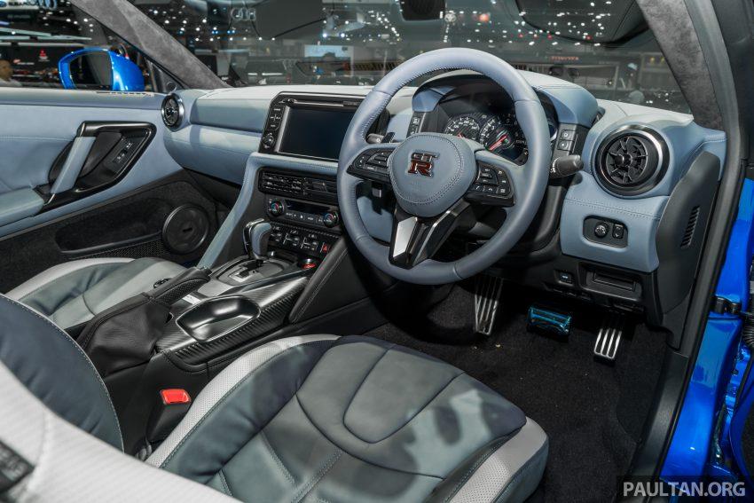 2019泰国车展:跨越半个世纪的战神!Nissan GT-R 50周年纪念版实车亮相,传承 R34 的 Bayside Blue 车身涂装 Image #112221