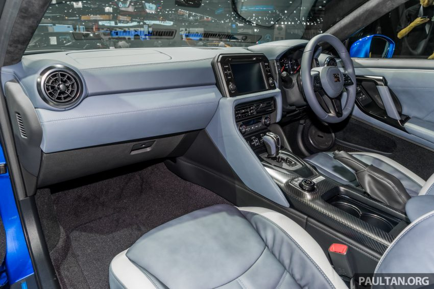 2019泰国车展:跨越半个世纪的战神!Nissan GT-R 50周年纪念版实车亮相,传承 R34 的 Bayside Blue 车身涂装 Image #112222