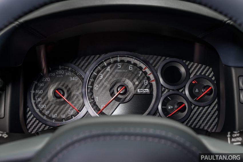2019泰国车展:跨越半个世纪的战神!Nissan GT-R 50周年纪念版实车亮相,传承 R34 的 Bayside Blue 车身涂装 Image #112223