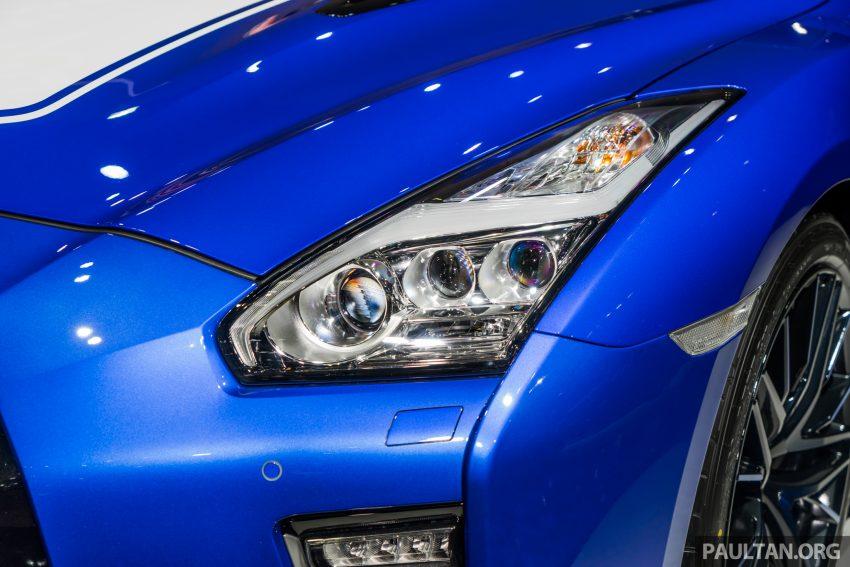 2019泰国车展:跨越半个世纪的战神!Nissan GT-R 50周年纪念版实车亮相,传承 R34 的 Bayside Blue 车身涂装 Image #112206