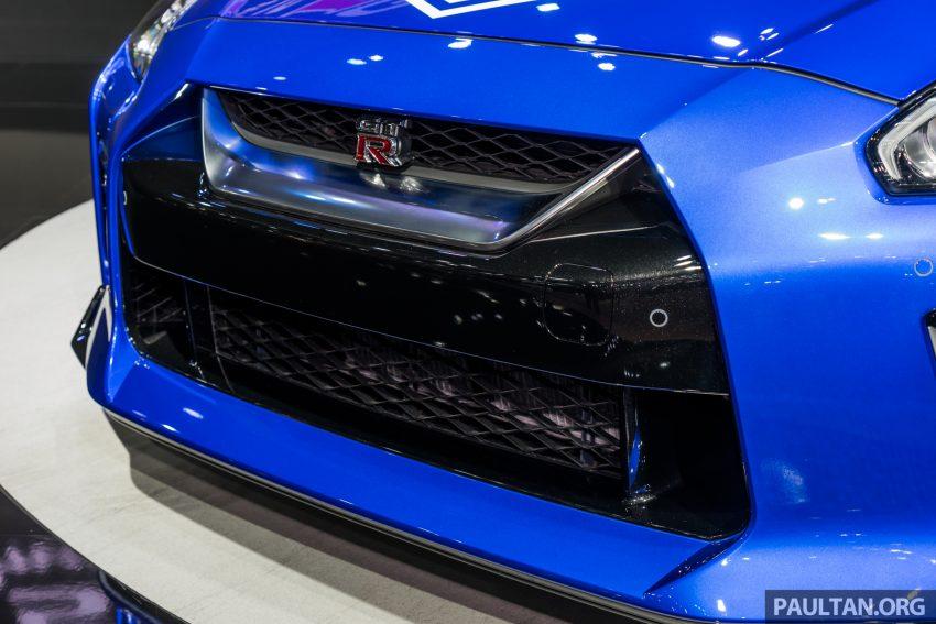 2019泰国车展:跨越半个世纪的战神!Nissan GT-R 50周年纪念版实车亮相,传承 R34 的 Bayside Blue 车身涂装 Image #112208