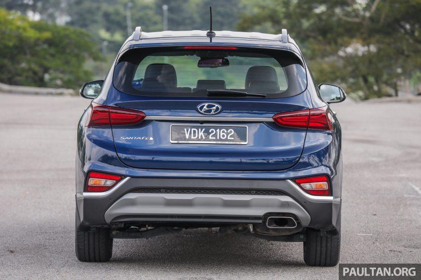 试驾:2019 Hyundai Santa Fe,朴实有华的七人座 SUV Image #110956