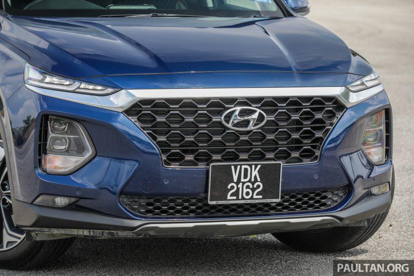 试驾:2019 Hyundai Santa Fe,朴实有华的七人座 SUV Image #110958