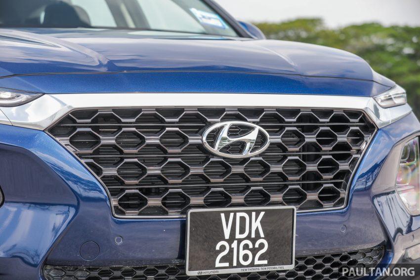 试驾:2019 Hyundai Santa Fe,朴实有华的七人座 SUV Image #110962
