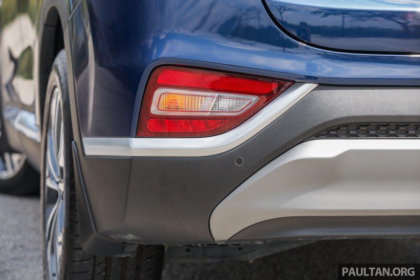 试驾:2019 Hyundai Santa Fe,朴实有华的七人座 SUV Image #110975