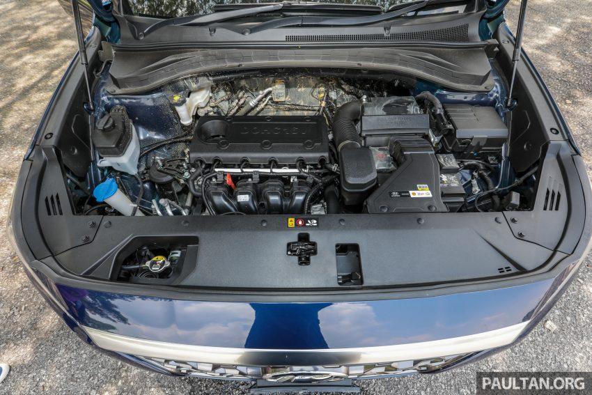 试驾:2019 Hyundai Santa Fe,朴实有华的七人座 SUV Image #110983