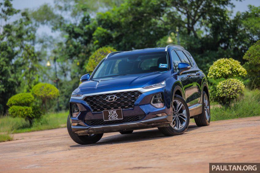 试驾:2019 Hyundai Santa Fe,朴实有华的七人座 SUV Image #110989