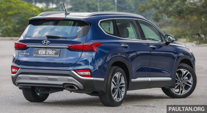 试驾:2019 Hyundai Santa Fe,朴实有华的七人座 SUV Image #110948