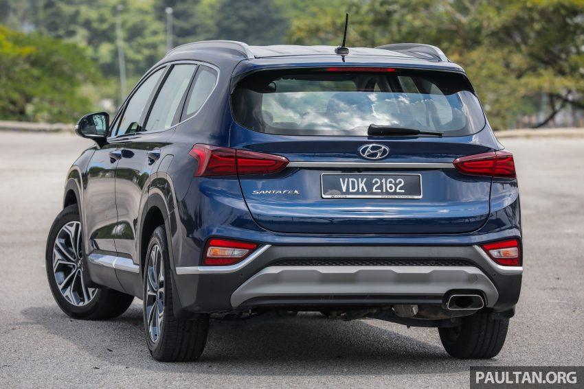 试驾:2019 Hyundai Santa Fe,朴实有华的七人座 SUV Image #110950