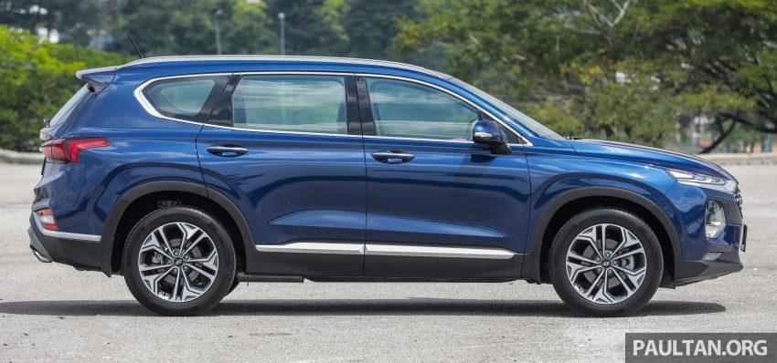 试驾:2019 Hyundai Santa Fe,朴实有华的七人座 SUV Image #110952