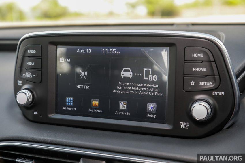 试驾:2019 Hyundai Santa Fe,朴实有华的七人座 SUV Image #111002