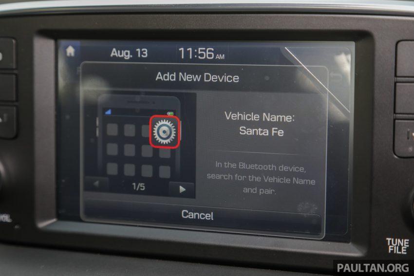 试驾:2019 Hyundai Santa Fe,朴实有华的七人座 SUV Image #111004
