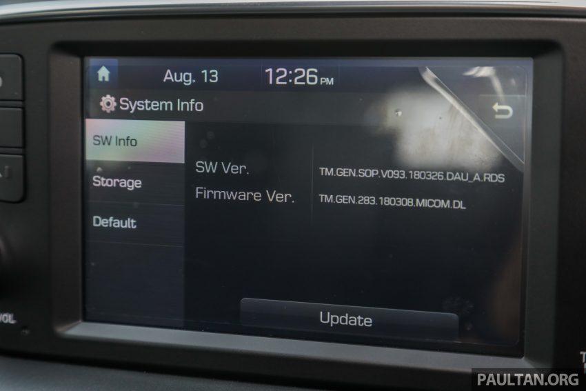 试驾:2019 Hyundai Santa Fe,朴实有华的七人座 SUV Image #111012