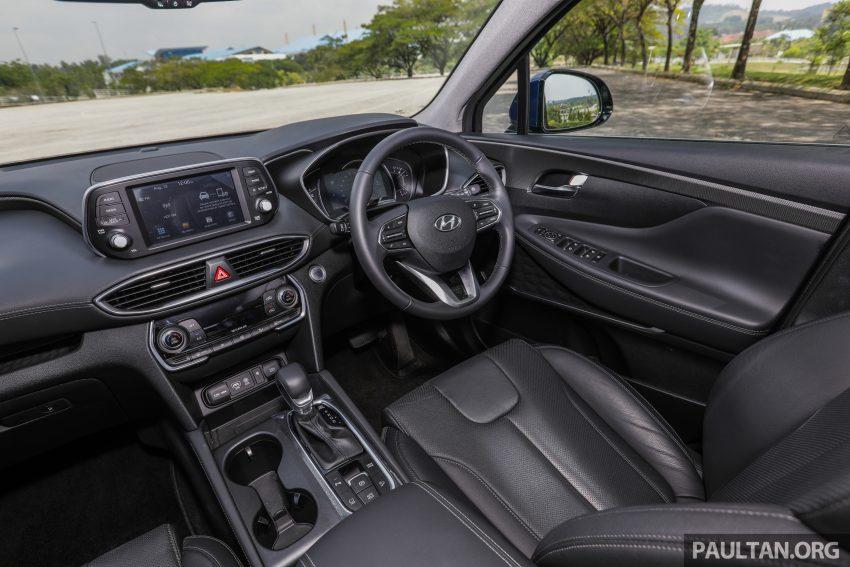 试驾:2019 Hyundai Santa Fe,朴实有华的七人座 SUV Image #111025