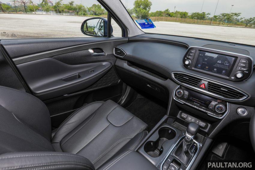 试驾:2019 Hyundai Santa Fe,朴实有华的七人座 SUV Image #111026