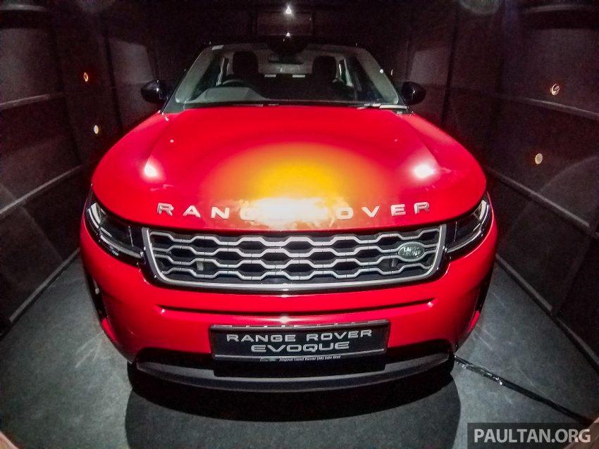 PACE 2019:第二代 Range Rover Evoque 本地开放预览 Image #109719