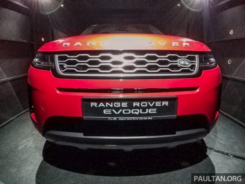PACE 2019:第二代 Range Rover Evoque 本地开放预览 Image #109721