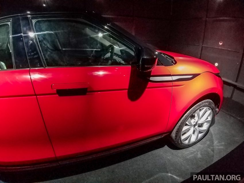 PACE 2019:第二代 Range Rover Evoque 本地开放预览 Image #109726