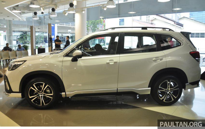 Subaru Forester GT Edition 新加坡首秀,明年来马上市? Image #109900