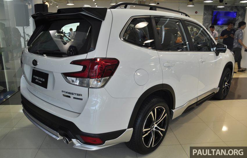 Subaru Forester GT Edition 新加坡首秀,明年来马上市? Image #109904