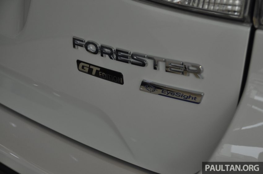 Subaru Forester GT Edition 新加坡首秀,明年来马上市? Image #109926