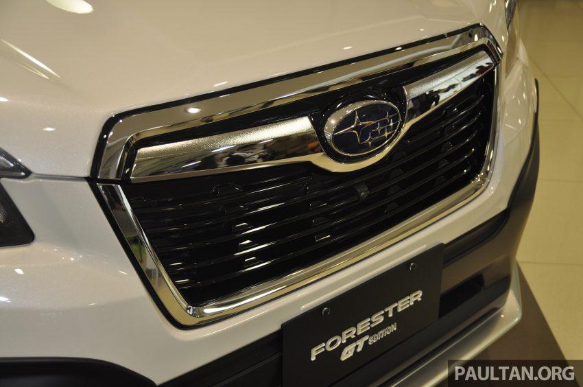 Subaru Forester GT Edition 新加坡首秀,明年来马上市? Image #109951