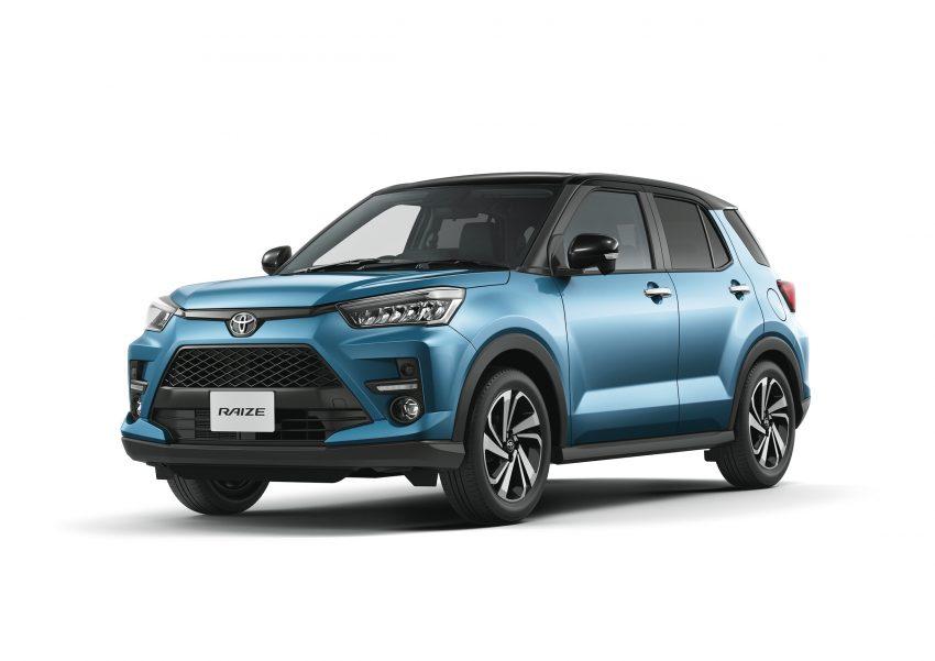 Daihatsu Rocky 的双生车,全新 Toyota Raize 正式发布 Image #109984