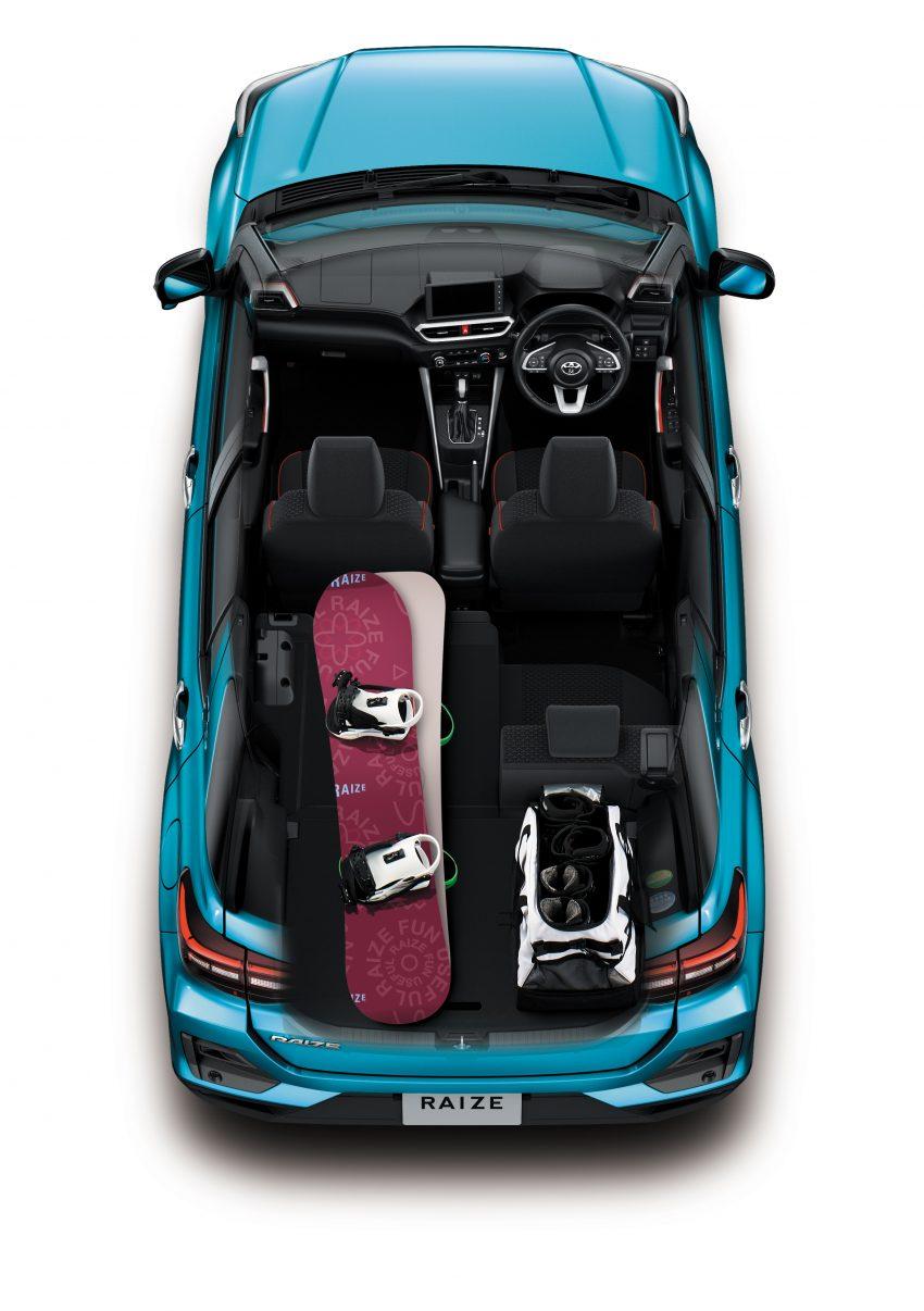 Daihatsu Rocky 的双生车,全新 Toyota Raize 正式发布 Image #109996