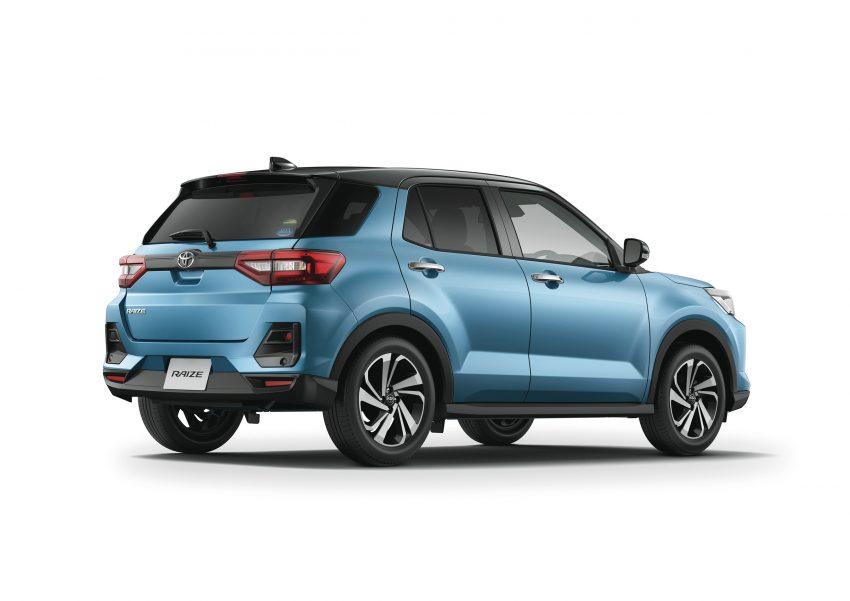 Daihatsu Rocky 的双生车,全新 Toyota Raize 正式发布 Image #109985