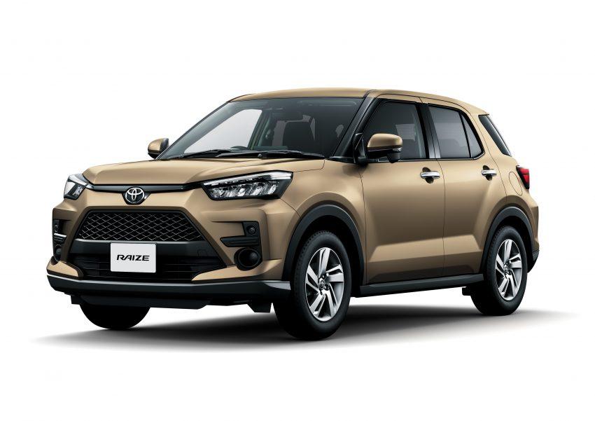 Daihatsu Rocky 的双生车,全新 Toyota Raize 正式发布 Image #110018
