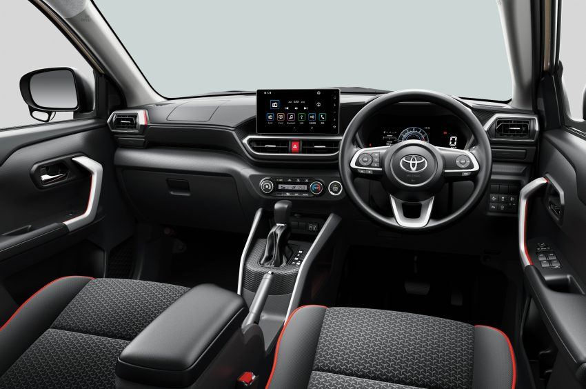 Daihatsu Rocky 的双生车,全新 Toyota Raize 正式发布 Image #110020