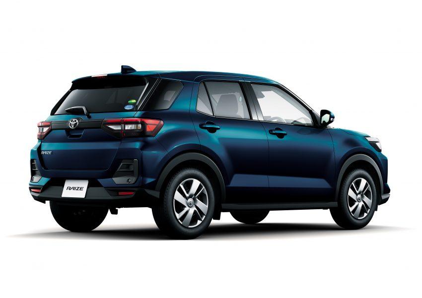 Daihatsu Rocky 的双生车,全新 Toyota Raize 正式发布 Image #110023