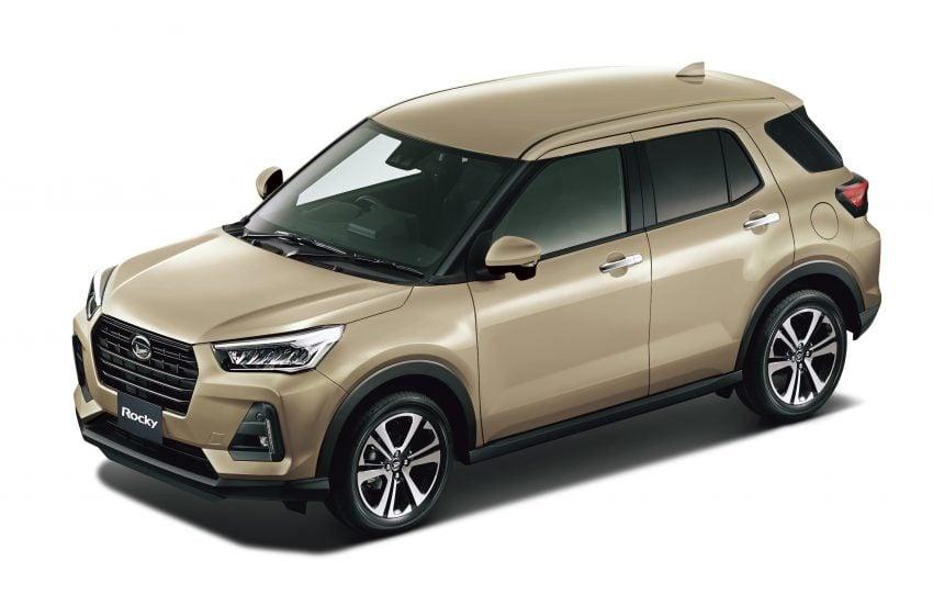 Daihatsu Rocky 正式在日本上市发售,价格从RM59k起 Image #110428