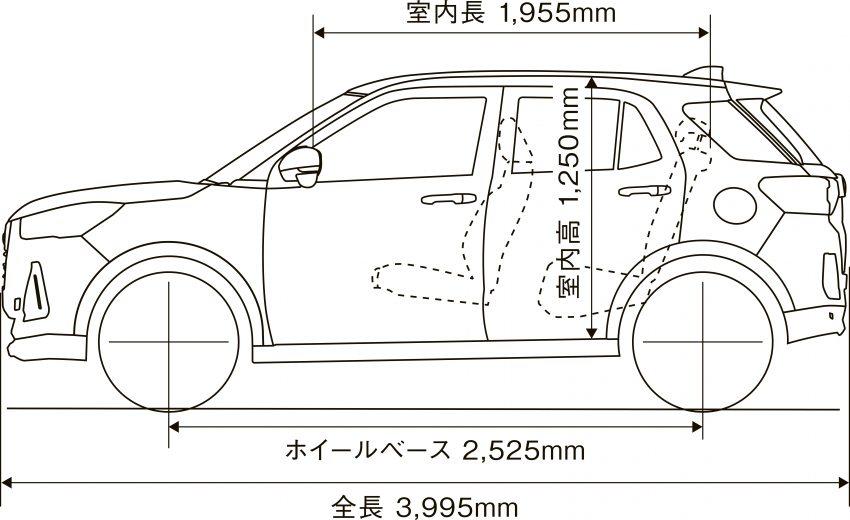 Daihatsu Rocky 正式在日本上市发售,价格从RM59k起 Image #110437