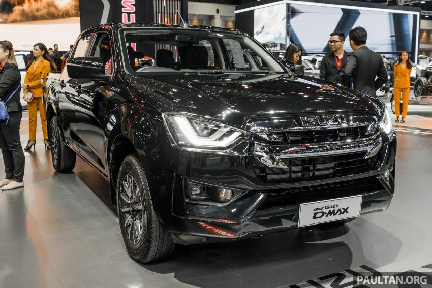 新车实拍:第三代 Isuzu D-Max 首次公开亮相泰国车展 Image #112288
