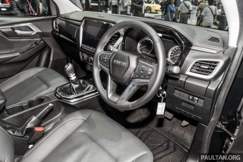 新车实拍:第三代 Isuzu D-Max 首次公开亮相泰国车展 Image #112305