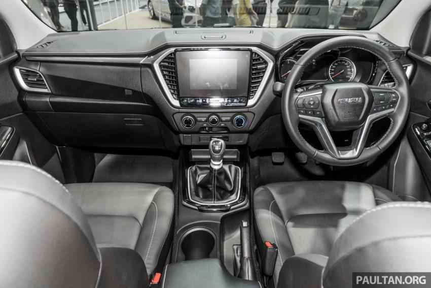 新车实拍:第三代 Isuzu D-Max 首次公开亮相泰国车展 Image #112306