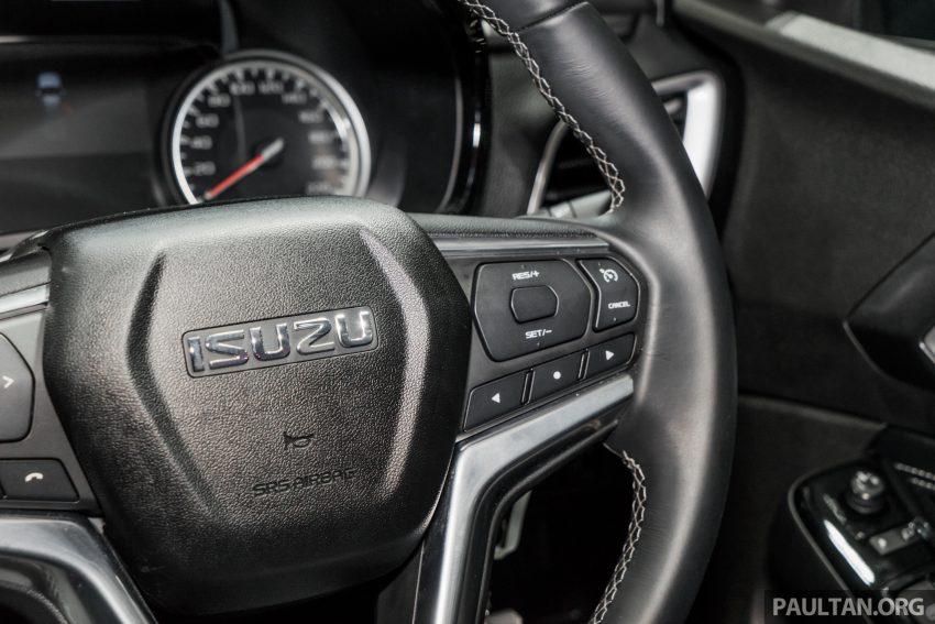 新车实拍:第三代 Isuzu D-Max 首次公开亮相泰国车展 Image #112309