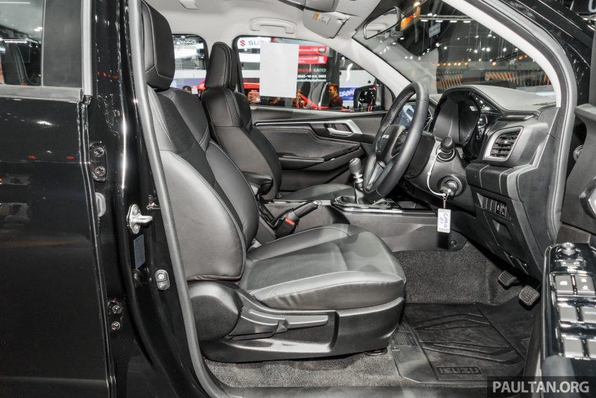新车实拍:第三代 Isuzu D-Max 首次公开亮相泰国车展 Image #112313