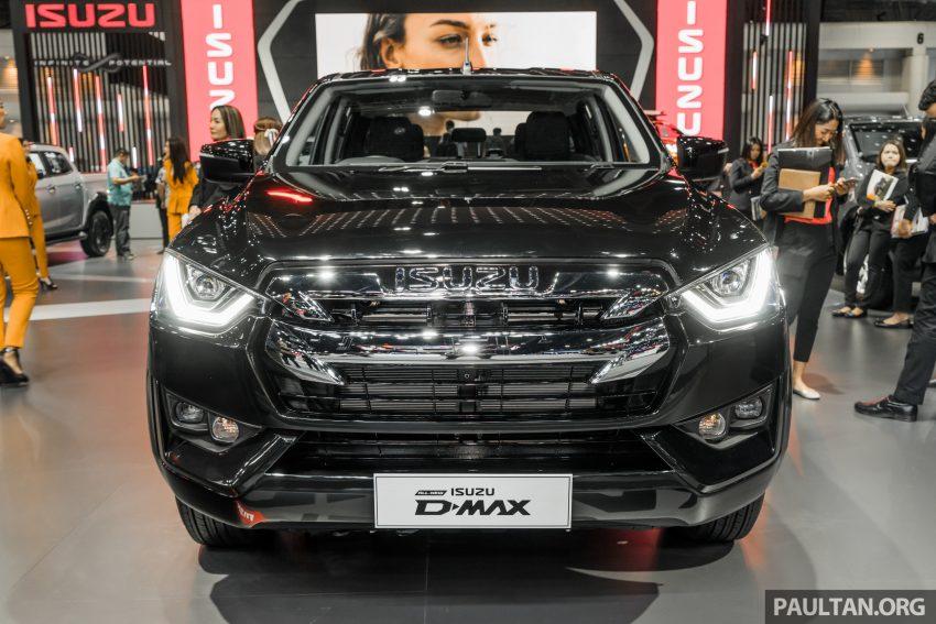 新车实拍:第三代 Isuzu D-Max 首次公开亮相泰国车展 Image #112291