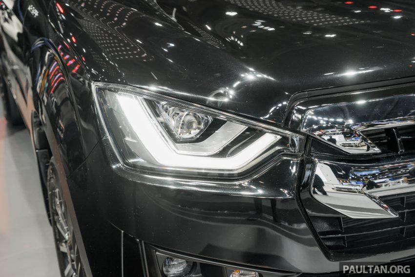 新车实拍:第三代 Isuzu D-Max 首次公开亮相泰国车展 Image #112294